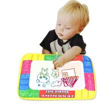 29X19cm Baby Water Drawing Painting Writing Toys Kids Children Cartoon Drawing Mat Board & Magic Pen Doodle Toy Gift