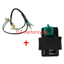 125CC Dirt Bike CDI Box Harness Set  CDI Ignition Coil Contact Wire Loom For YCF SDG SSR CRF KLX 110CC