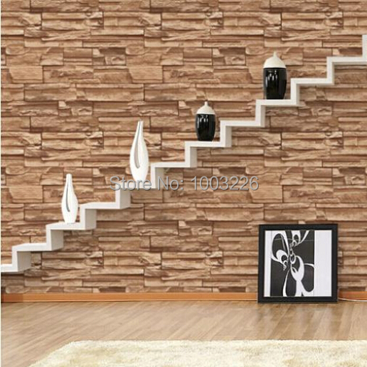 3d wallpaper roll Chinese style dining room mural wallpaper stone brick design background wall vinyl wallpaper for living room<br><br>Aliexpress