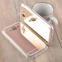 Case For Samsung Galaxy J 5 7 J5 J7 2016 J510FN J710FN SM-J510 SM-J710 Duos Cover Mirror Glitter Luxury Silicone Ultra thin Skin