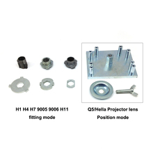 Taochis Modify bulbs mode position fitting modify tools H1 H4 H7 H8 H9 H11 9005 9006 Q5 Hella Projector lens modification