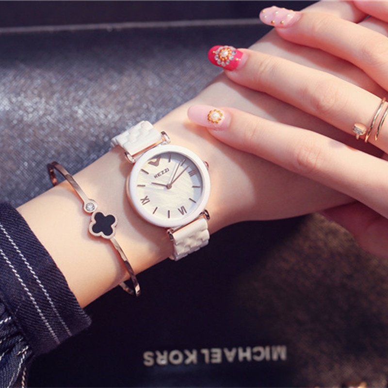 reloj mujer marcas famosas Fashion Ceramic Watch Women Dress Watch Casual Wrist Watches Clock Female Wristwatch Wrist watches fo<br><br>Aliexpress