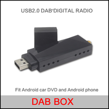 USB 2.0 Digital DAB+ Radio Tuner Receiver Stick For Android Car DVD Player Autoradio Stereo