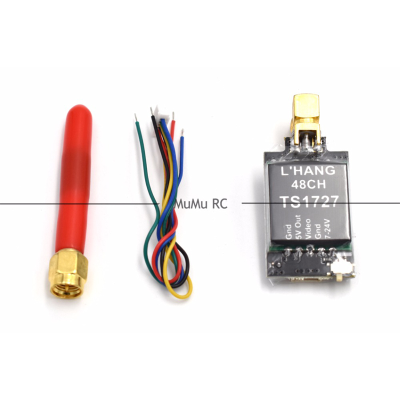 TS1727 5.8G 25mW 600mW Switchable 48CH AV Transmitter Module for Multi-rotors Quadcopter For RC FPV Racing Frame Quadcopter<br><br>Aliexpress