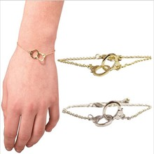 Handcuffs bracelet charm women fashion jewellery ornaments girl clothing accessories gift sell like hot cakes