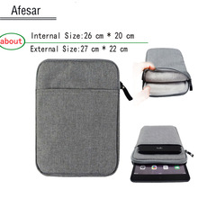Universal 9.7 10.1 inch Tablet bag case for iPad 2 3 4 Air  zenpad ONYX BOOX PocketBook SURFpad cover less than size: 26.5*20cm