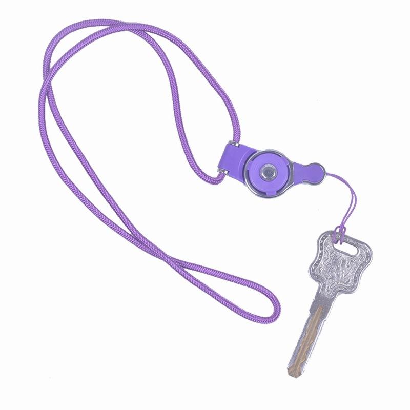 Portefeuille Detachable Long Lanyard Neck Strap For Key id badge holder Xiaomi mi 5 mi5 iPhone 7 6 keycord Mobile Phone Lanyards (4)