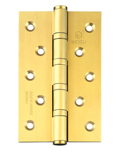 1 piece Solid Brass Door Ball Bearing Hinge SB Finished (5inch *3 inch *3.0mm)