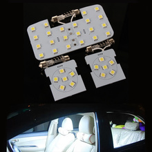 Car reading lights dome lamps LED interior lights white color suitable For KIA RIO K2 2006-2014 For Hyundai solaris Verna