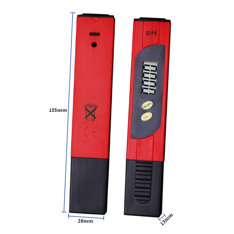 100pcs by dhl fedex Digital 0.01 PH pen type Tester Meters ForMeasurement Instruments Aquarium Water Analyzers 2