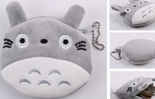 Plush 10*10CM My Neighbor TOTORO Etc. Coin Purse Wallet Pouch Case BAG ; Women Lady Bags Pouch Makeup Case Holder BAG Handbag(China)