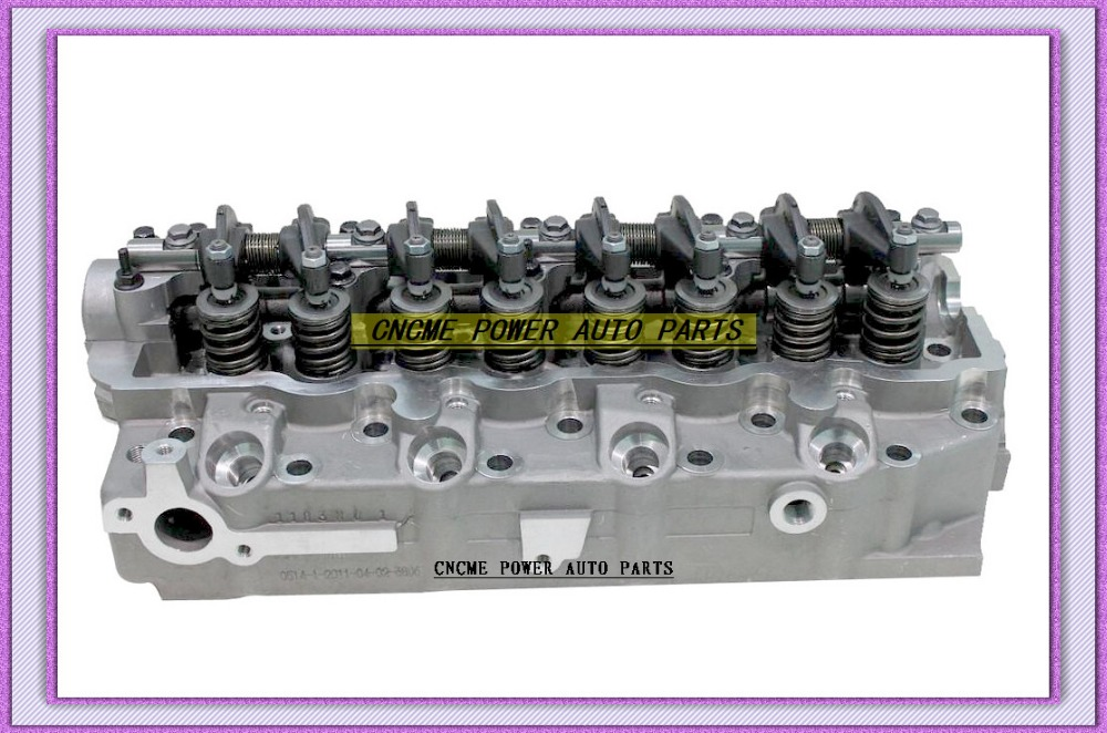 4D56 4D55 Cylinder Head Assembly For Ford Bronco Ranger For Mitsubishi Montero Pajero L300 For Hyundai H1 H100 MD185918 908 611