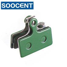 4 Pairs Green Resin Bicycle Disc Brake Pads for Shimano XT/SLX M985 M785 M666 M675 S700 ALFINE R785 FSAK-Force MTB Bike Parts(China)