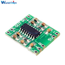 5Pcs/Lot 2.5-5V Miniture Mini Digital Amplifier Board 2x3W PAM8403 Class D Stereo Speaker AMP Module USB Power Supply 2.5 To 5V