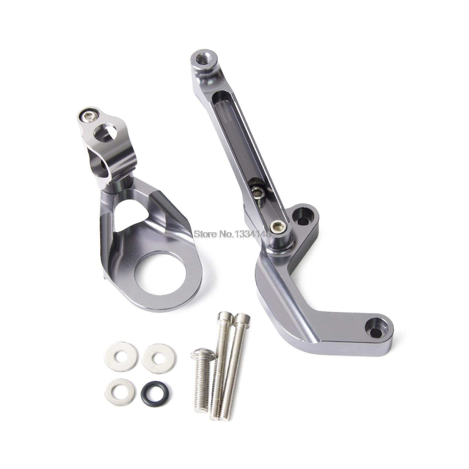 CNC Steering Damper Mounting Kit for Suzuki GSX-R1000 09 10 11 2012 13 14 15<br>