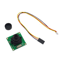 1pcs HD 700TVL CCD Mini Security Video PCB Board FPV Color Digital CCD Camera Dropship