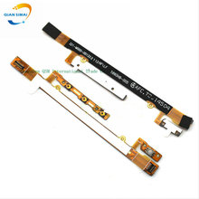 QiAN SiMAi Original Power On/Off Button & Volume Up/down Buttons Flex Cable Parts For Sony Xperia C2304 C2305 S39c S39h Phone