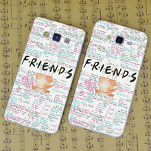 B1368 Friends Tv Show Quotes Poster Transparent PC Hard Case Cover For Samsung Galaxy J 3 5 7 A 3 5 7 8 9 2016 GRAND 2 PRIME