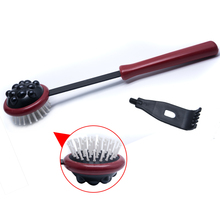 Multifunctional Handle Wood Massager Hammer Back Head Knock Massager Stick Body Spa Stress Relief Hammer C1406(China)