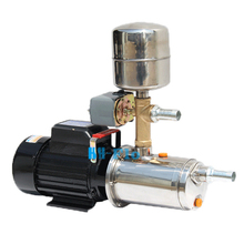 220V 25MM Stainless Steel Self-priming Pump Water Supply Booster Pump Mechanical Automatic Well Suction Pump Screw Pump