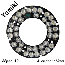 Yumiki Infrared 36pcs IR LED board for CCTV cameras night vision (diameter 60mm) for CS LENs