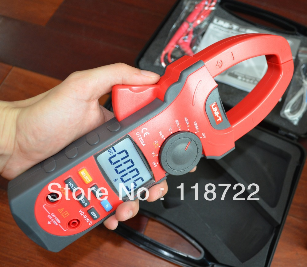 UT208A 3 3/4 AC DC Digital Clamp Meter<br><br>Aliexpress