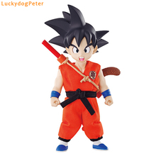 Dragon Ball Z Young Son Goku Action Figure 1/10 scale painted figure Real Clothes Ver. Young Kakarotto Doll PVC figure Toy Anime