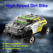 NQD 757-915 RC Cars High Speed Radio Control Dirt Bike with Shockproof System