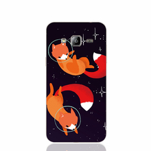 21845 Space Foxes cell phone case cover for Samsung Galaxy J1 ACE J5 2016 J7 N9150
