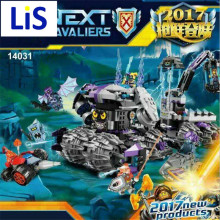 Lis Lepin 14031 Nexus Knights Building Blocks Set Jestro's Monstrous Monster Vehicle Kids Bricks Toys Compatible 70352 - AbcdeFgH Store store