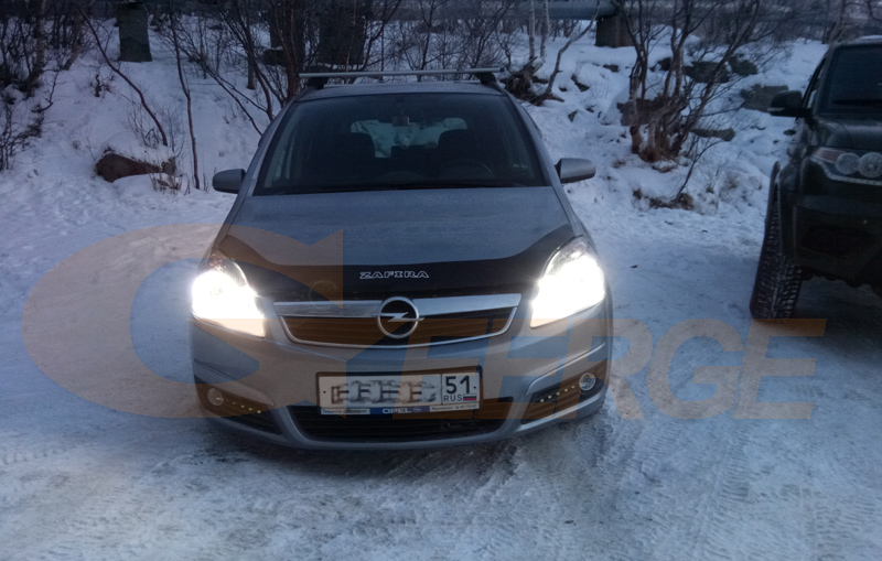 Opel Zafira B 2005-2014 smd led angel eyes(6)