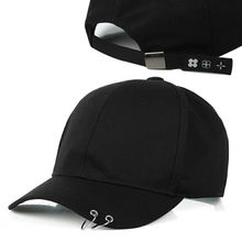 Hami Otwo Embroidery Cotton Cap Baseball Cap casual Snapback Hat Hip Hop  solid black color Cap hats for Men Women cap af3f661ae3d8