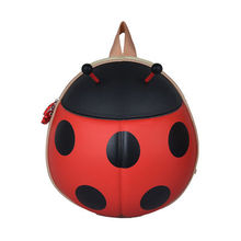 Factory outlet, childrens bag, cartoon backpack, beetle backpack, ladybug school bag(China)