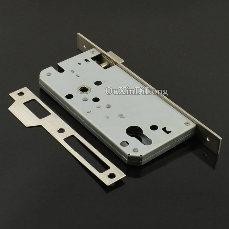 Security Door 8560/6085 European Mortise Door Lock Lockbody Anti-theft Door Lock Body Gate Room Mute Lock body Lock Repair Parts(China (Mainland))