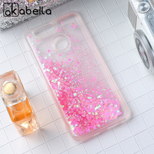 AKABEILA Glitter Liquid Case For Huawei Nova 2 PIC-AL00 Nova2 5.0 inch Back Cover Coque Soft TPU Phone Case Dynamic Sand Cover