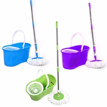mop and bucket with spin cycle