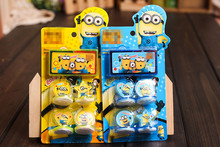 100% quality goods Despicable me cute minions  cartoon stamp set gift for kids scrapbooking DIY decoration