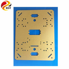 Official DOIT 6061 High Strength Aluminum Alloy  215 mm * 160 mm * 2 mm Car Chassis Plate