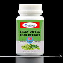 Green Coffee Bean Extract with GCA Natural Weight Loss Supplement,Fat burner ,dietary supplement,100pieces/bottle