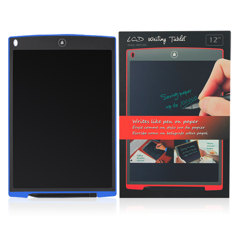 12 inch LCD Writing Tablet Board Electronic Small Blackboard Paperless Office Writing Board with Stylus Pens Electronic Pads