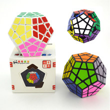 Shengshou 3x3x5 Megaminx Magic Cube 12 Sides Professor Speed Cube Puzzle 65mm Pentagon Cubo Magico Blocks Children Gift Toys(China)