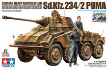 Tamiya 37018 1/35 Scale Model Kit German Heavy Armored Car Sd.Kfz.234/2 Puma