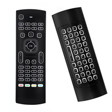 Centechia MX3 Air Mouse Backlight MX3 2.4G Wireless Keyboard IR control Air Mouse Backlit For Android TV Box PC