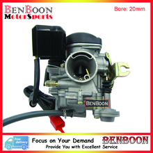 20mm Bore CVK PD20J Carb Carburetor GY6 50cc 139QMB Engine Chinese Scooters Parts ATV Parts Roketa Baotian Znen UM Sunl