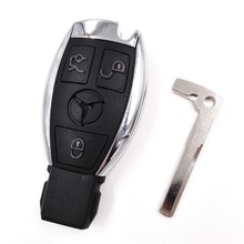 HKCYSEA 3 Buttons Smart Remote Car Key for Mercedes-Benz MB 315MHz NEC BGA(with LOGO),3PCS
