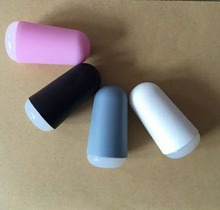 3cm Marshmallow Nail Art Stamper ((Random Color) Big Clear Jelly Stamper Professional Squishy Refill Stamping(China)