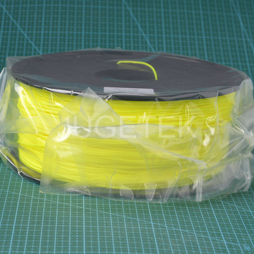 ABS Filament 1.75 in Yellow color 1kg<br>