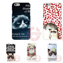 Grumpy Cat I Had Fun It Was Awful Soft TPU Silicon Phone Cases Cover For Apple iPhone 4 4S 5 5C SE 6 6S 7 7S Plus 4.7 5.5