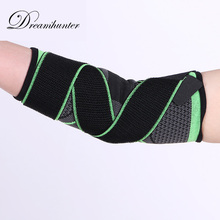 Bandage Strap Elastic Basketball Elbow Supports Brace Nylon Tennis Bodybuilding Gym Compression Arm Elbow Pads Protector