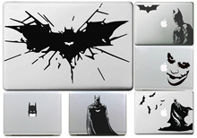 Wire Bat for Batman Decal for Macbook Sticker Air 11 13 Pro 13 15 17 Retina Computer Car Wall Skin Laptop Vinyl Stickers